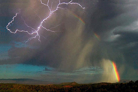 Yet there are times when He reveals Himself in all His brilliant splendor, like a rainbow following a great storm